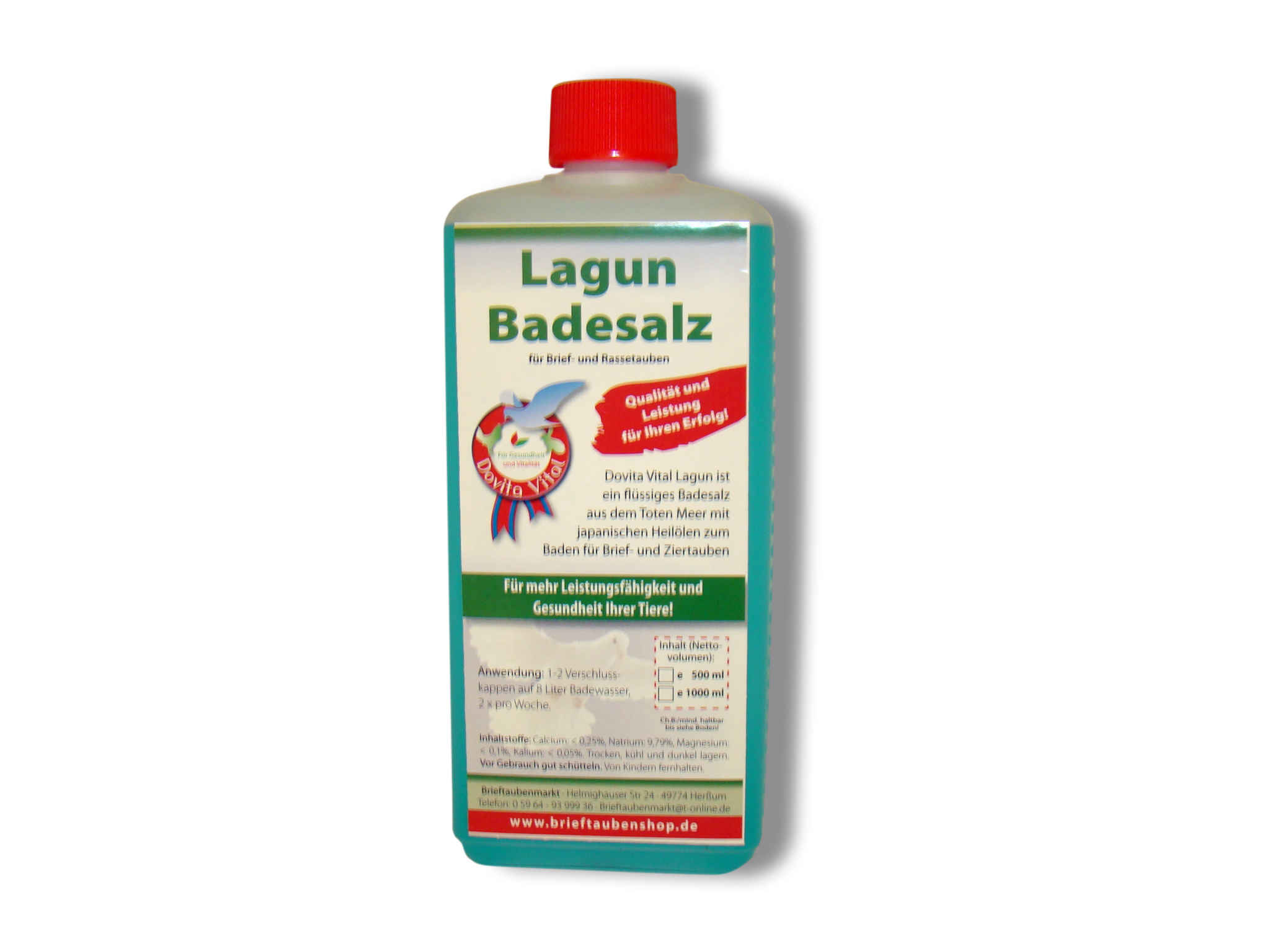 Dovita Vital Lagun Badesalz 500ml
