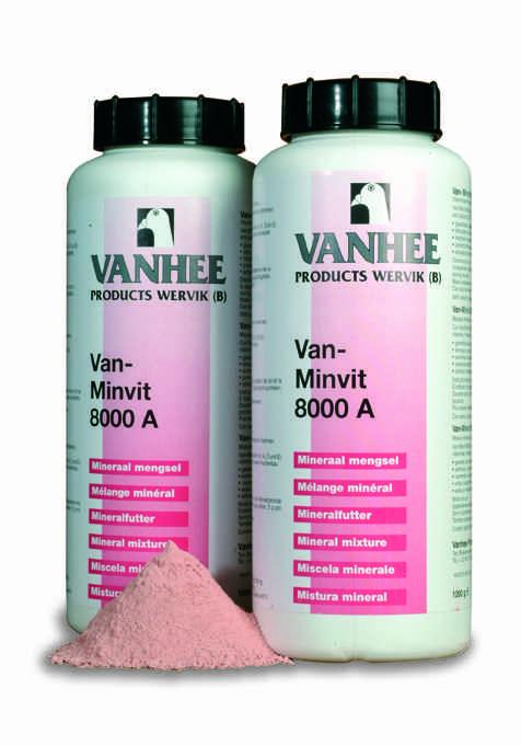 Van-Minvit 8000A 1 kg Vitaminierte Mineralienmischung