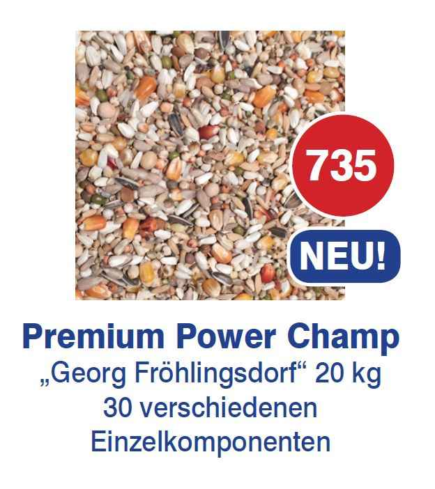 Vanrobaeys - Premium Power Champ-Froehlingsdorf Nr.735 20kg