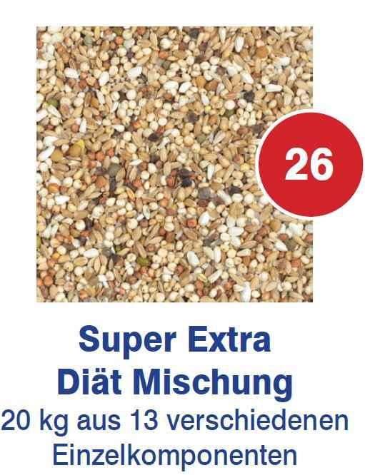 Vanrobaeys - Super Extra Diaet Mischung Nr.26 20kg