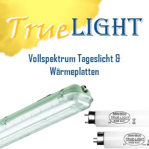 Truelight & Wärmeplatten
