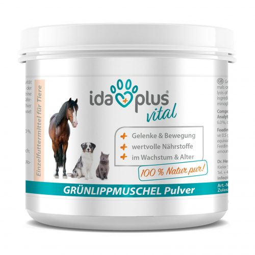 Ida Plus – Grünlippmuschelpulver – 100 g